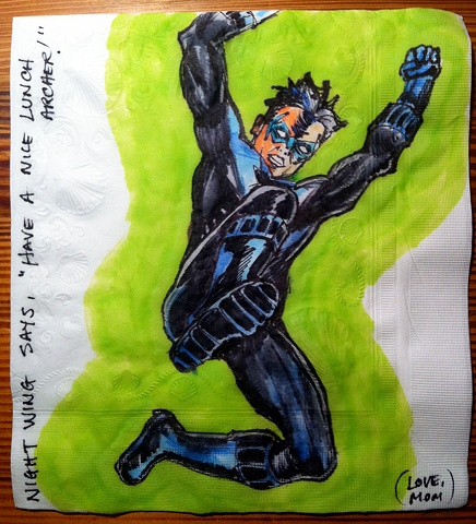 Nightwing with Boot