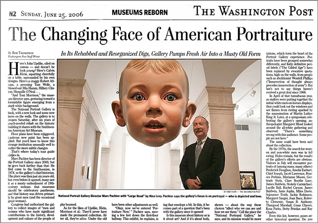Washington Post Article on National Portrait Gallery