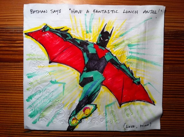 Batman Beyond with Wings