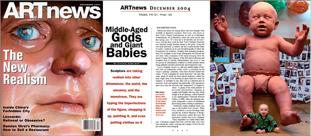 ArtNews, Cover and Article  By Cynthia Nadelman