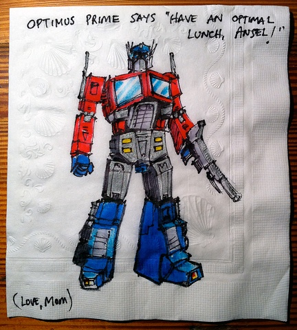 Optimus Prime (Transformers Animated)