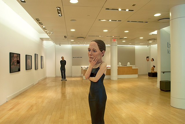 Installation View of Salamatina Gallery