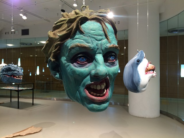 Popular Monsters Installation at LIU, Brooklyn: Zombie