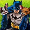 Batman with Dog Head Hands