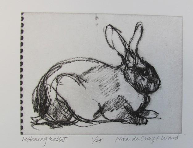 Listning Rabbit