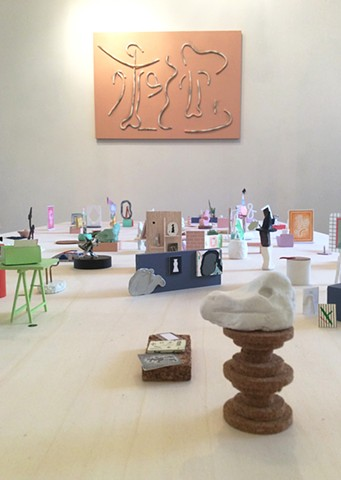 ALPHABET, vue d'exposition Galerie Olivier Meyer 2016