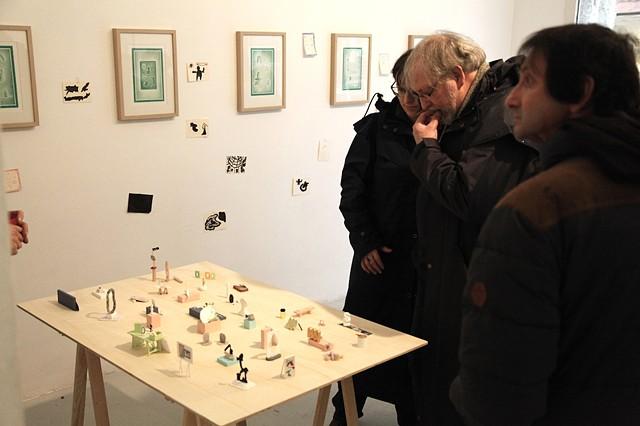 Pocket Gallery, Galerie Artem, Quimper, Février 2015