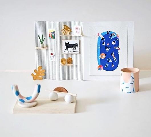 Miniature shop for BOOMBOOM shop