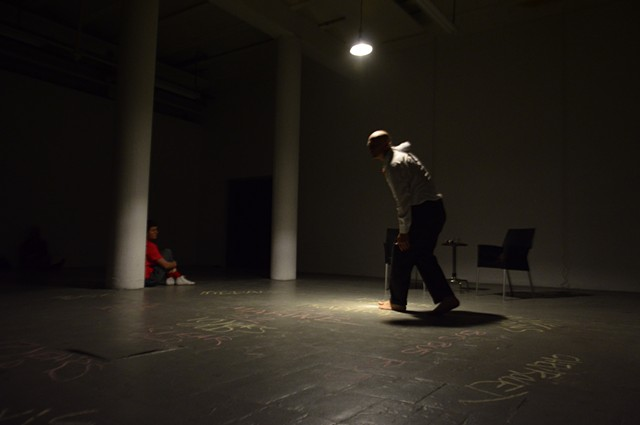 You might know him, michael barrett, P.S. This is live, Quartair, Den Haag, lecture performance, performance art