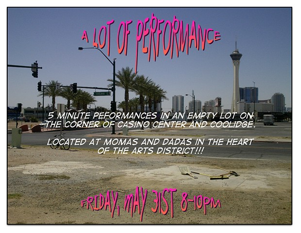 momas and dadas, new genres project house, artist michael barrett, las vegas, arts district, education, performance art, a lot of performance