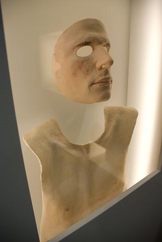 The Absolute Fake (long wall, Reuben Mask detail)
