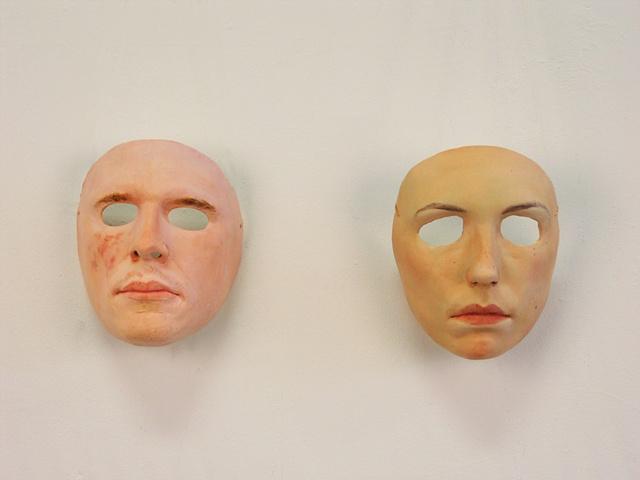 Reuben and Nora Masks