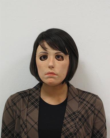 Anjuli Masking as Nora