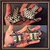 Brass nuts frame liner shader pair (SOLD)