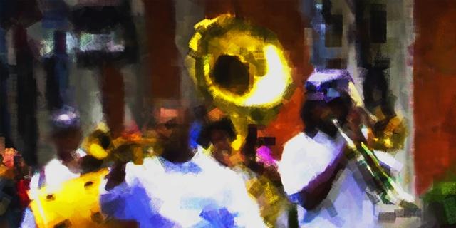 Jazz Parade on Royal St