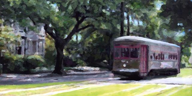 St Charles Streetcar V