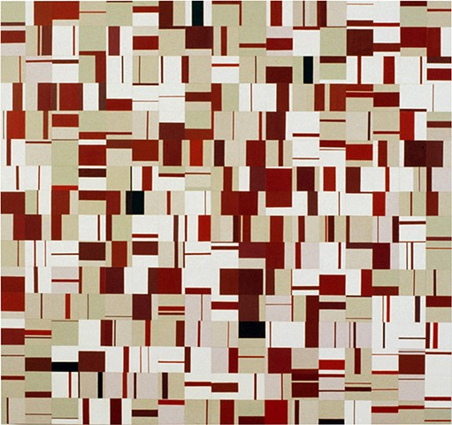 Permanent Collection of Los Angeles County Museum of Art, pattern recognition, minimal, abstract, color