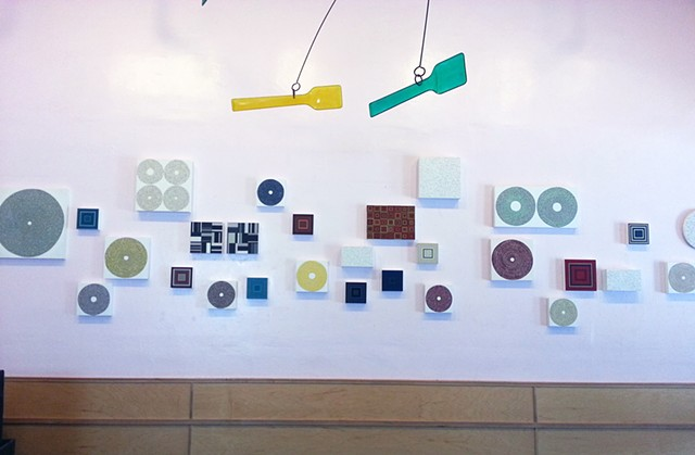 Installation at Scoops in Los Angeles