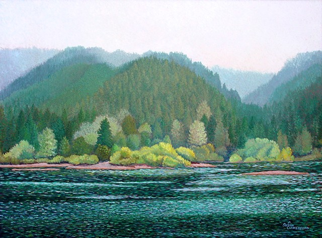 The Lower Umpqua River near Reedsport, OR