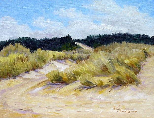 A small study of the dunes near Reedsport Oregon.  A beautiful day in the Spring.