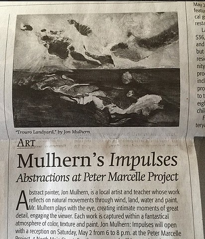 Mulhern's Impulses Abstraction at Peter Marcelle Project Press