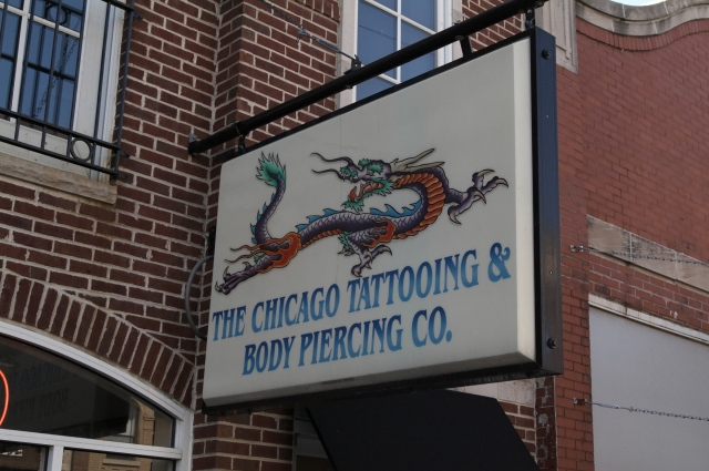 Famous Chicago Tattoo Sign