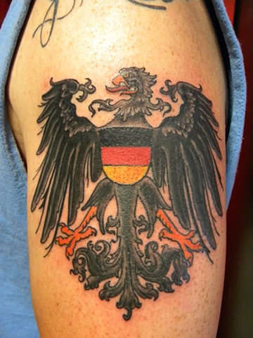 imperial german eagle tattoo - photo #11