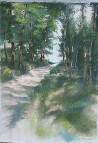 Path to Raritan Bay