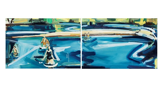 River Diptych