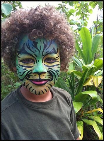Blue/Green Tiger