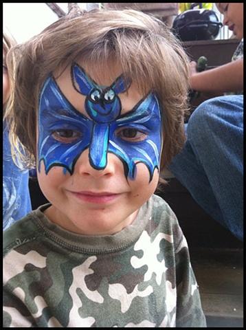 Blue Bat Boy