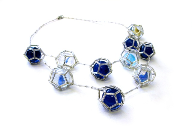 Dodecahedron Marvel necklace