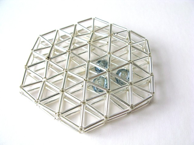 geometric jewellery, contemporaru handcrafted jewellery
