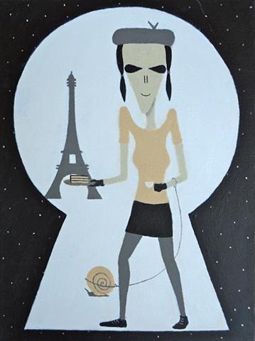 Parisian Priscilla