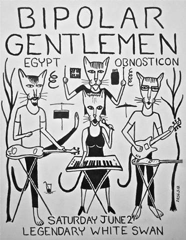 Bipolar Gentlemen At the Legendary White Swan 6/2/12
