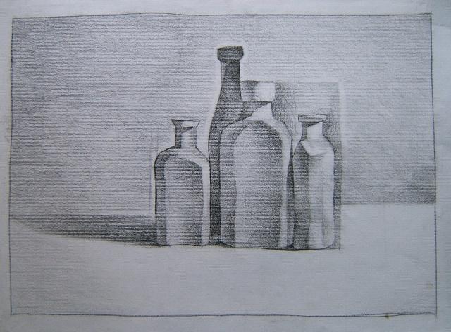 bottle project: final rendering