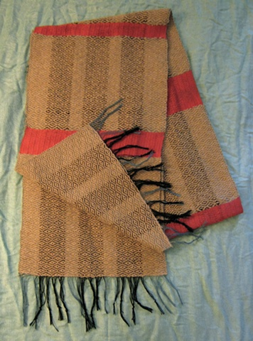 Traditional Scarf with Tassels