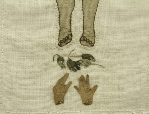 Gloves and mice (Detail)