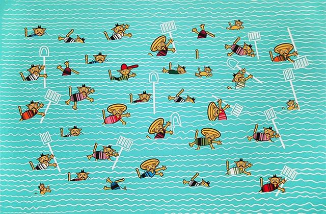 Farmyard Friends Swimming