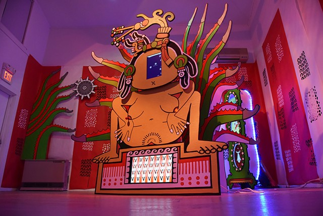 Goddess Mayahuél in Arcade Configuration