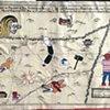 Mapa De San Antonio Y Sus Misiones En El Aniversario De Trecientos Años, Despues Del Capitan Don Luis Antonio Menchaca