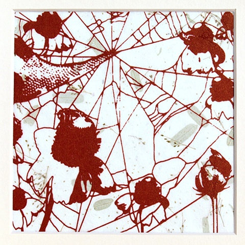 Red Web Silkscreen