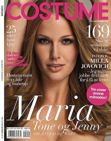 COSTUME Maria Skappel - Model and designer