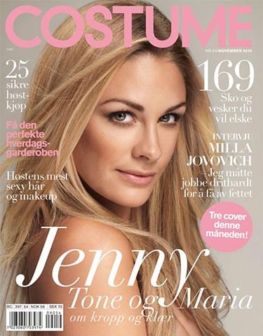 COSTUME Jenny Skavlan - Actress & TV Presenter