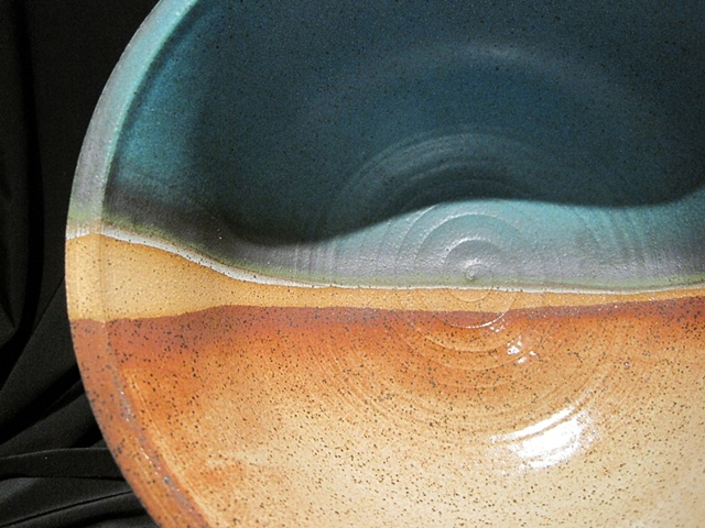 """wish fulfilled"" large bowl"