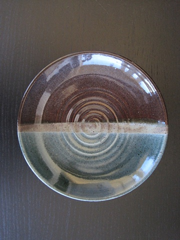 shallow bowl inside swirl