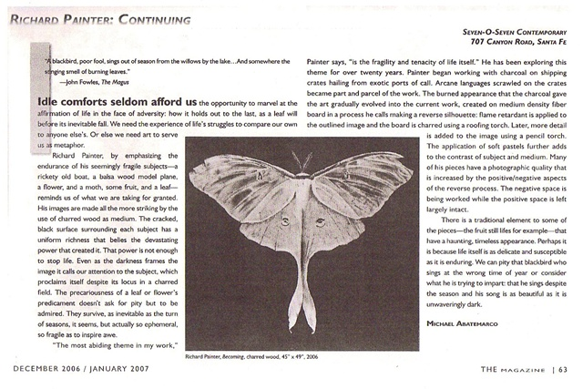 "Abatemarco Review---""THE"" Magazine--Santa Fe, New Mexico--2007"