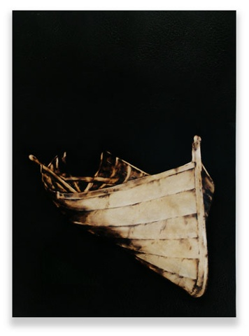 Image of wooden boat