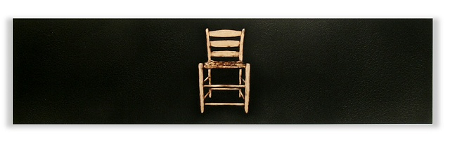 Image of antique wooden chair