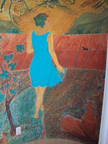 Exterior buon fresco mural